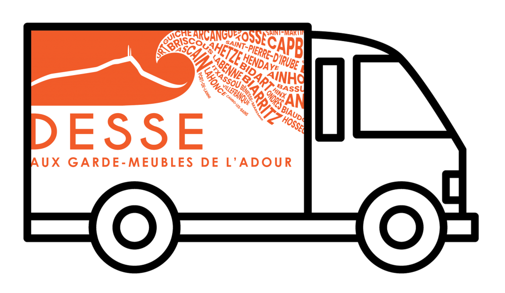 Logo camion de demenagement